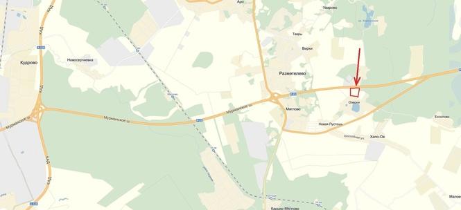 Расположение на карте, массив